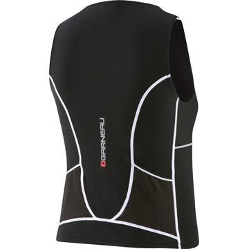 The back of the Garneau Women's Comp Sleeveless in Black.