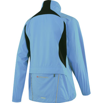 The back of the Garneau Women's Modesto Jacket in Flash Blue.