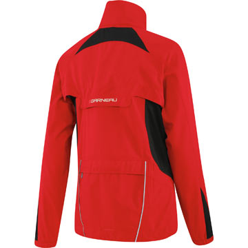 The back of the Louis Garneau Women's Electra Jacket in Ginger.