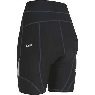 The back of the Louis Garneau Women's Alveo 3K Shorts 2.