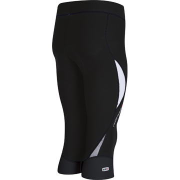 The back of the Louis Garneau Women's Pro Knickers in Black.