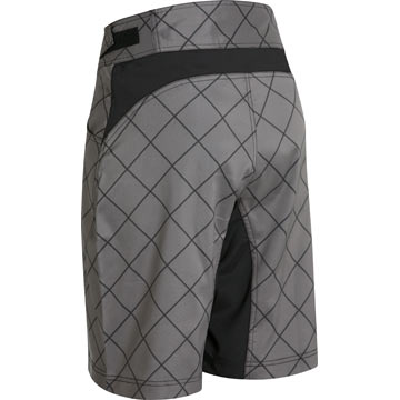 The back of Garneau's Porcupine Shorts in Charcoal.