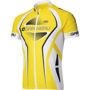 The Garneau Equipe Jersey in LG Yellow.