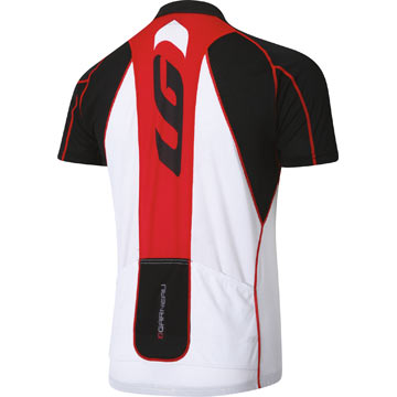 The Louis Garneau Pro Carbon ETS 2 Jersey in Red.