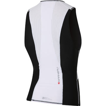The back of the Garneau Pro Sleeveless Semi-Relax.