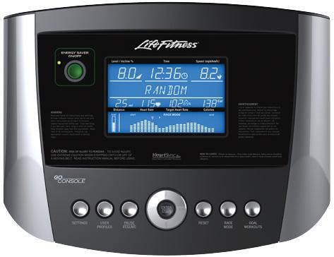 Life Fitness T3 Treadmill (Go Console)
