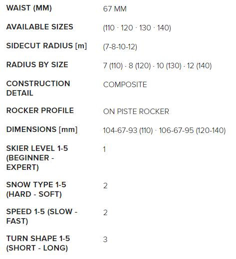 Little Belle FDT dimensions