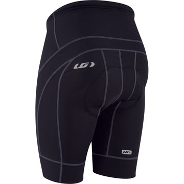 The back of the Louis Garneau Alveo Gel Shorts.