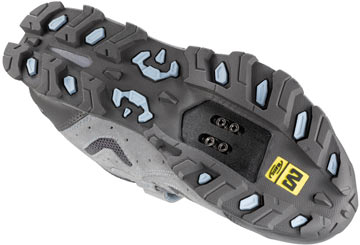 The Mavic Zoya sole.