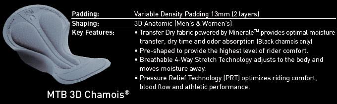 Men's MTB 3D Chamois