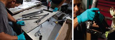 Expert craftsmen will work on your Parlee!