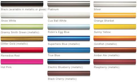 Seven Paint Options