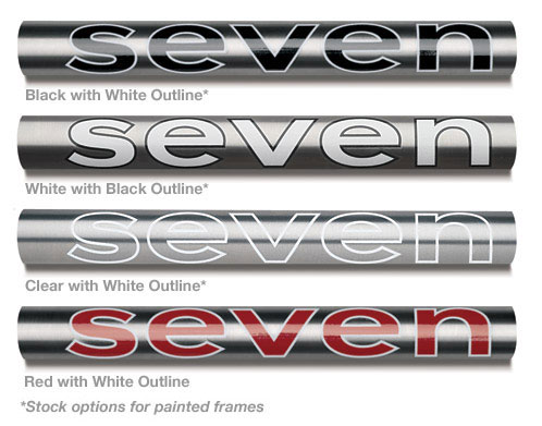 Seven Decal Options