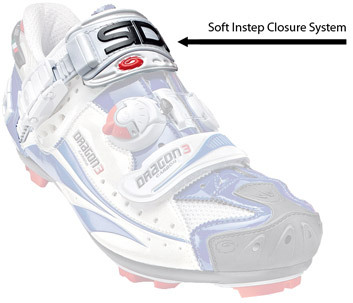 Sidi's Soft Instep Closure System