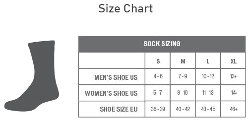Specialized socks sizing chart