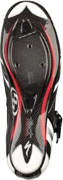 The sole of the Specialized Comp Road Shoes.