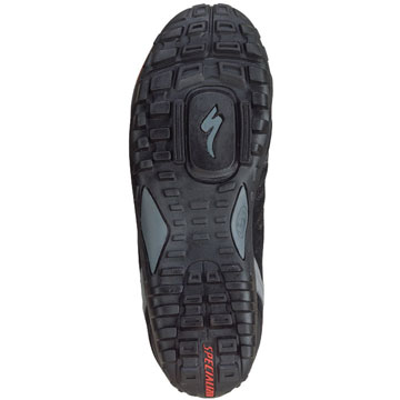 The sole of the Specialized Women's Tahoe Shoes.