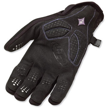 The palm of the Specialized Women's BG Equinox Gloves.
