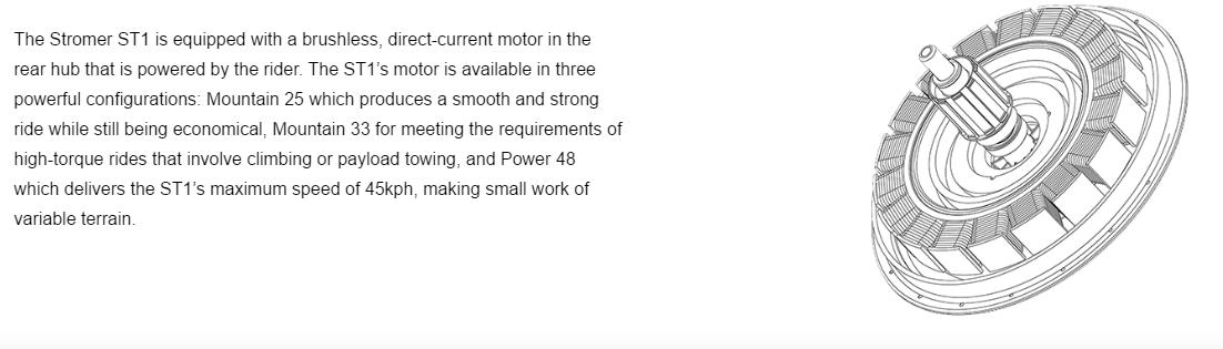 Stromer ST1 motor