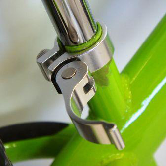 Strider's ST-3 No-Pedal Balance Bike quick-release seatpost collar