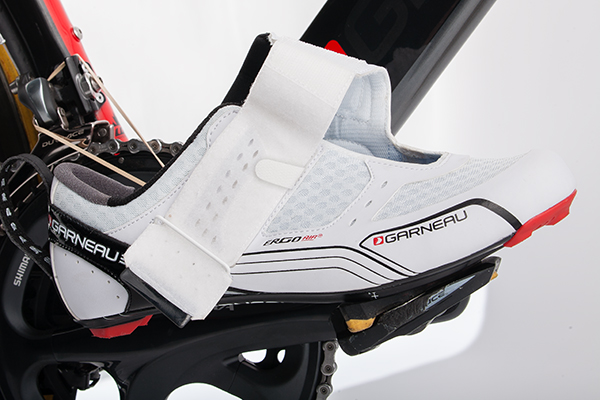 Garneau's Tri X-Lite Shoes go on/off super fast!