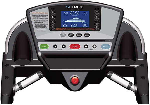 True's M50 Treadmill console