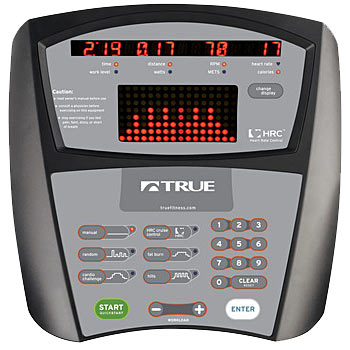 True Fitness PS50 Console.