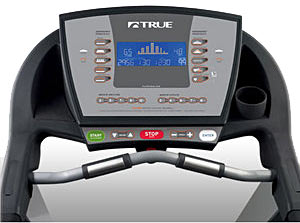 True PS800 Treadmill Console.