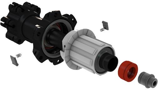 Mavic TS-2 hubs