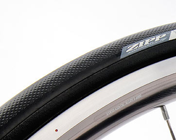 The dimples on Zipp's Tangente tire.