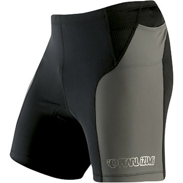 Pearl Izumi Elite Tri Shorts Color: Black/Shadow Gray
