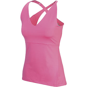 Pearl Izumi Women's Elite Tank Color: Flamingo
