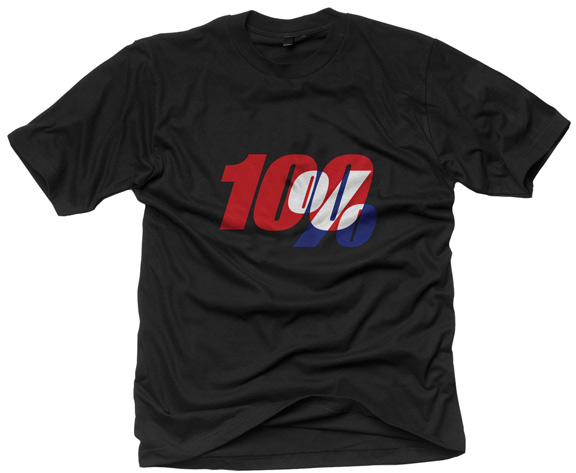 100% Black House T-Shirt Color: Black