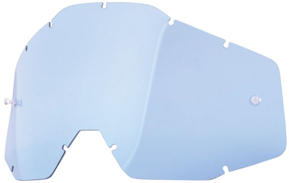 100% Replacement Dual Lens Lens: Blue