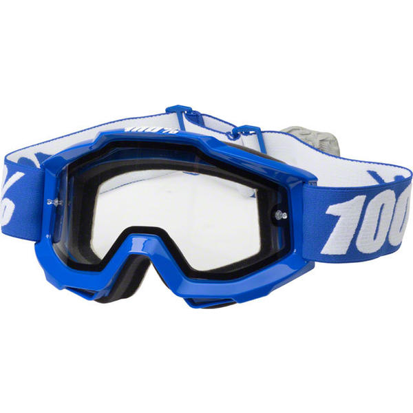 100% Accuri Enduro Goggles Color: Reflex Blue