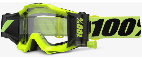 100% Accuri Forecast Goggles Color: Fluo Yellow