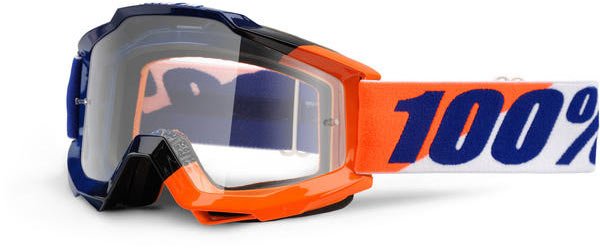 100% Accuri Goggles Color | Lens: Wilsonian | Clear