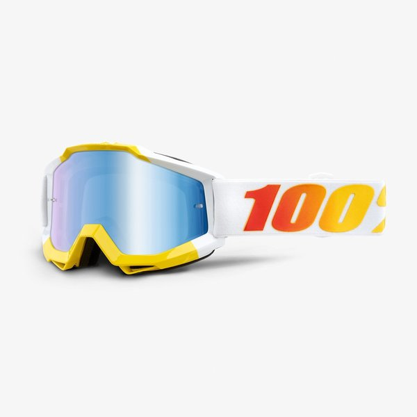 100% Accuri Goggles Color | Lens: Astra | Mirror Blue|Clear