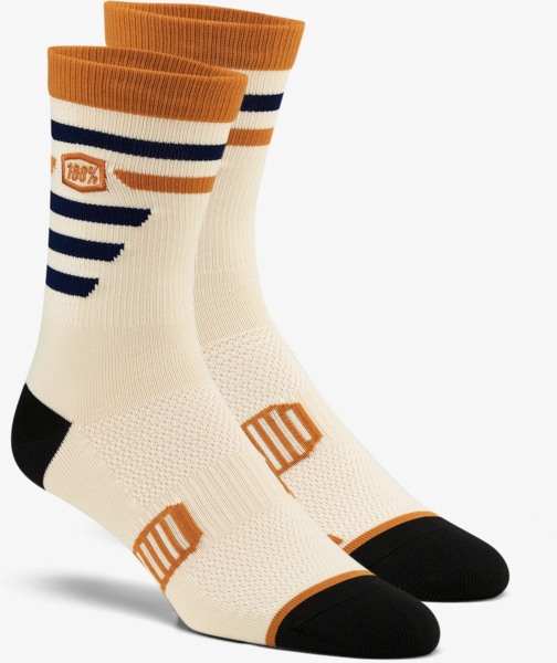 100% Advocate Performance Socks Color: Beige