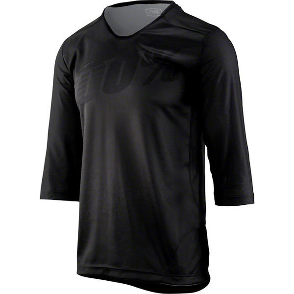 100% Airmatic 3/4 Jersey Color: Black