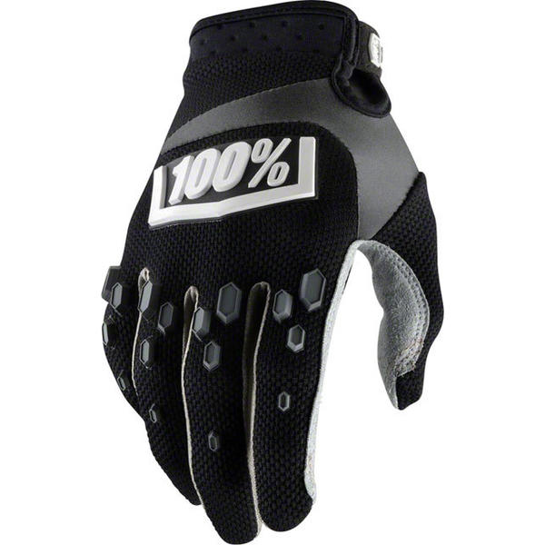 100% Airmatic Gloves Color: Black