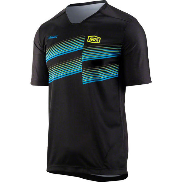 100% Airmatic Jersey Color: Black