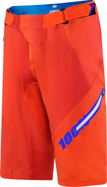 100% Airmatic Shorts w/Liner Color: Blaze Orange