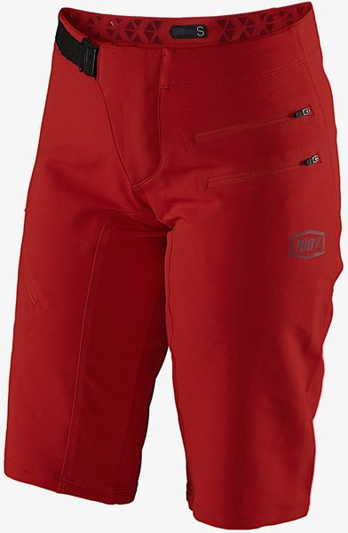 100% Airmatic Women's Shorts Color: Red