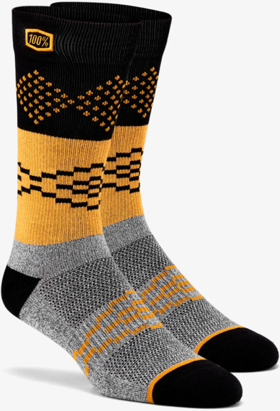 100% Antagonist Socks Color: Grey