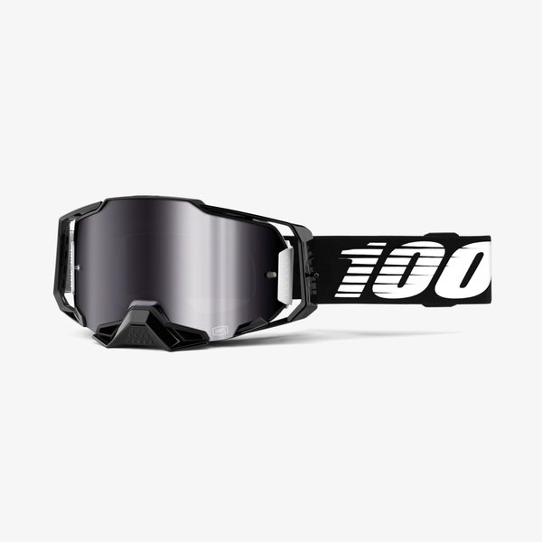 100% Armega Goggles Color | Lens: Black | Silver Flash Mirror