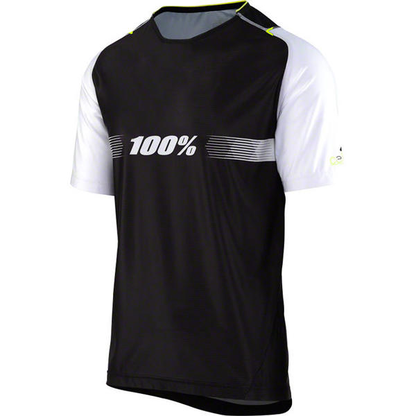100% Celium Jersey Color: Black