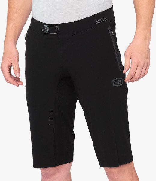100% Celium Shorts Color: Black