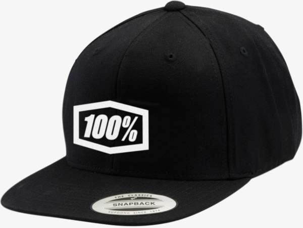 100% Essential Snapback Hat