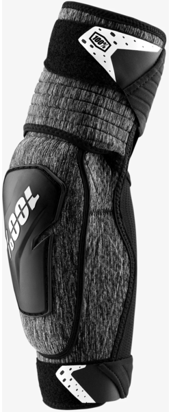 100% Fortis Elbow Guard Color: Grey Heather/Black